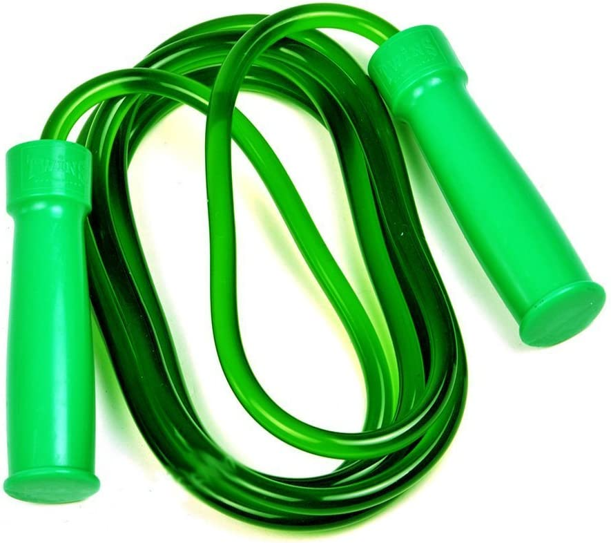Twins Special Skipping Rope Muay Thai Boxing Heavy Bearing Tube Green