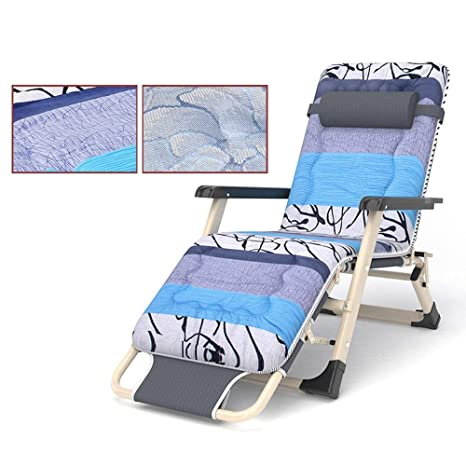 Amazon.com: Vvlo Sun Loungers Folding Chair Siesta Chair ...