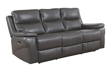 Astounding Amazon Com Benzara Bm177910 Contemporary Double Recliner Unemploymentrelief Wooden Chair Designs For Living Room Unemploymentrelieforg
