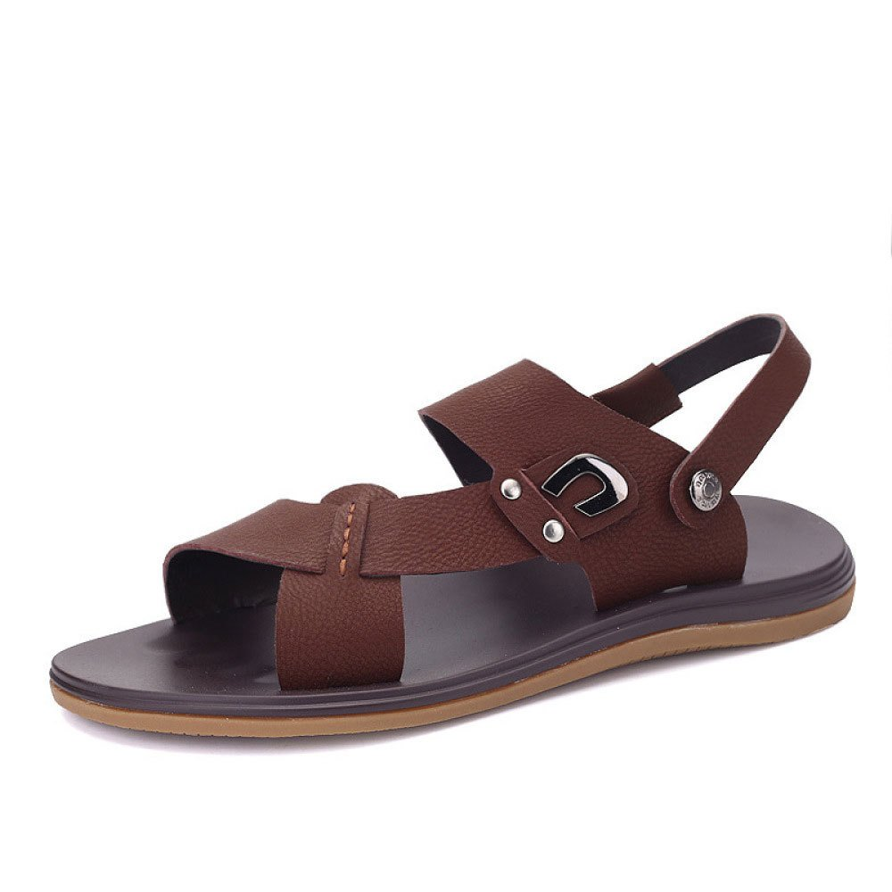 Zapatillas Cómodas Ocasionales De La Moda del Verano Sandalias Salvajes 37 EU|Brown