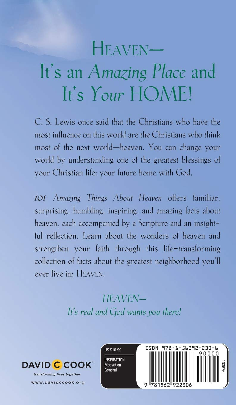 101 Amazing Things About Heaven: Robin Schmidt: 9781562922306: Amazon.com:  Books