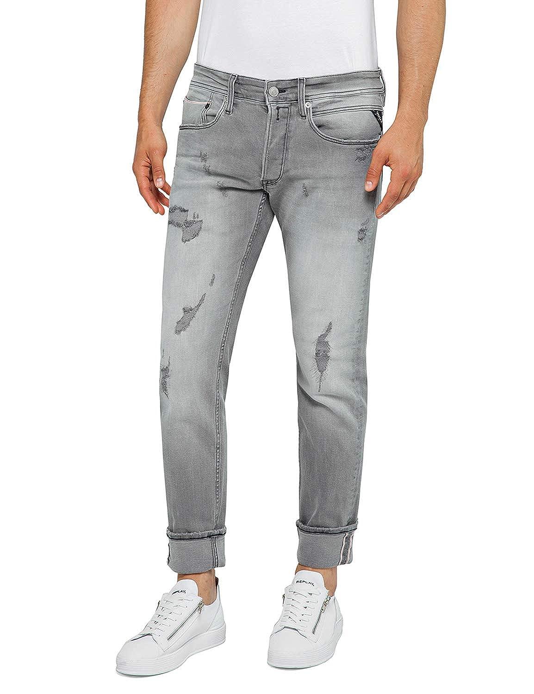 REPLAY -  Jeans - Slim - - Slim Tinta Unita - Uomo 160494