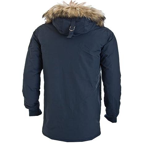 Superdry co Amazon Indigojaffa Coat Everest Clothing uk wqTrOwxv