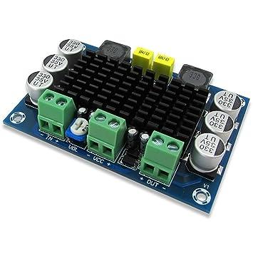 DollaTek DC 12V-24V TPA3116 D2 100W Mono Canal de Audio Digital de Audio Amplificador
