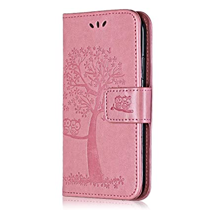 COVER A LIBRO IN PELLLE CON CHIUSURA MAGNETICA PER APPLE IPHONE 7/8
