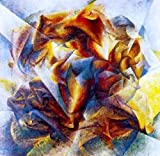 Umberto Boccioni Soccer (also known as Dynamic Action Image) - 30'' x 30'' 100% Hand Painted Oil Painting Reproduction