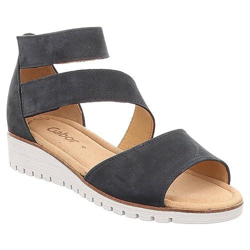 Gabor Sport - Mocasines para Mujer, Color Azul, Talla 35 EU: Amazon.es: Zapatos y complementos