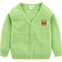 Boys Knitted Cardigan Button Fastening Age 7-16 Lyle And Scott/