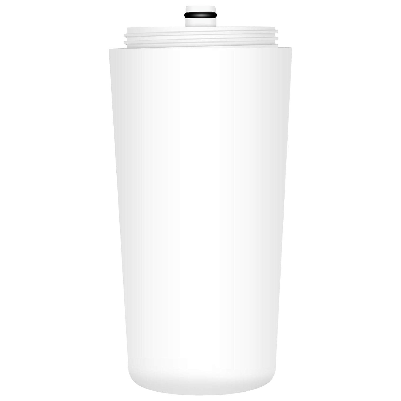 AQUACREST AQ 4125 Shower Water Filter, Compatible with Aquasana AQ 4125, AQ-4100, AQ-4100NSH, AQ-4105, Jonathan Product Beauty Shower Filter, with Advanced KDF Filtration Material