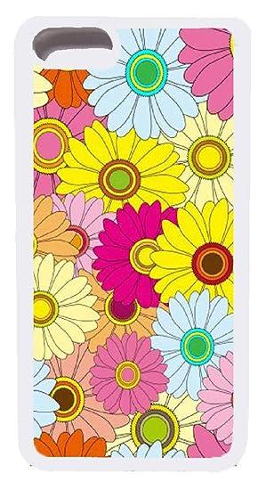 Amazon Com Iphone 7 Plus Case Custom Floral Wallpaper Hard