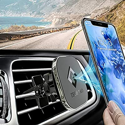 Magnetic Phone Car Mount, GTECH PRO Universal Twist-Lock,360 View Air Vent Car Phone Mount for i phone 11,11Pro,10,10S,XR,8,8+,7,7+,6,Samsung Galaxy S10,S10+,S9,S8, Note10+,9+,8, all other smartphones