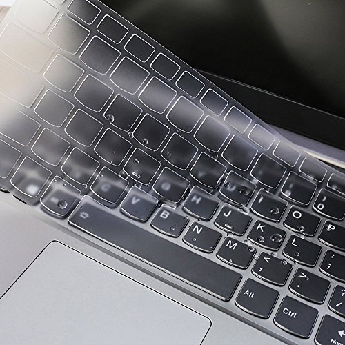 Soft Silicone Keyboard Cover Skin Protector for Lenovo Yoga 720 13.3 inch, Lenovo Yoga 720 12.5 inch, Lenovo Yoga 920 13.9 inch Touch-Screen Laptop (Clear)