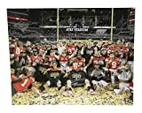 Ohio State 2014 National Championship Autographed 16x20 Photo Ohio State Buckeyes - Certified Authentic