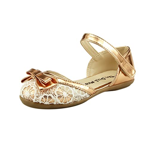 5411e34c80ebc Super Cute Girl s Shoes Closed Toe Lace Sandal with Bow Toddler size (05