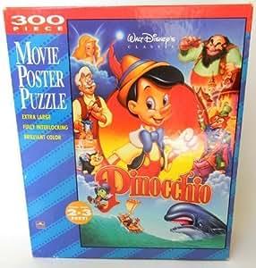 amazoncom walt disneys pinocchio movie poster puzzle