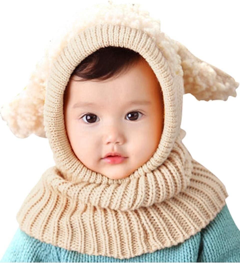 Victoria /& Friends Kids Girls//Boys Winter Hat Neck Gaiter Ski Warmer I Winter Scarf With Hood