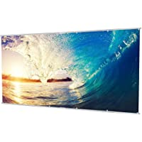 Houzetek 100/120 Inch Portable HD 16:9 Projection Screen