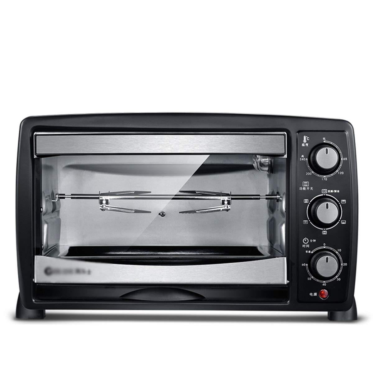 NKDK オーブン25リットル電気オーブンギフト卸売大容量家庭用ベーキング(2オーブンを含む) -38 オーブン B07RS2CS38