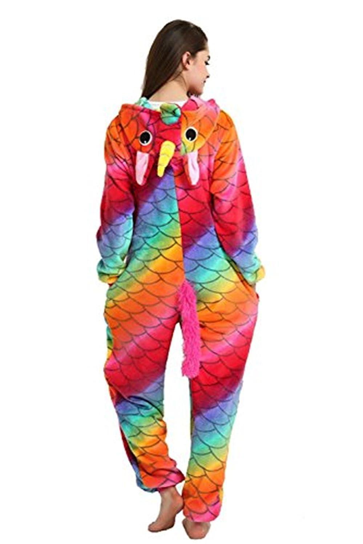 Misslight Unicornio Pijamas Animal Ropa de dormir Cosplay Disfraces Pijamas para Adulto Niños Juguetes y Juegos (M, Mermaid): Amazon.es: Juguetes y juegos