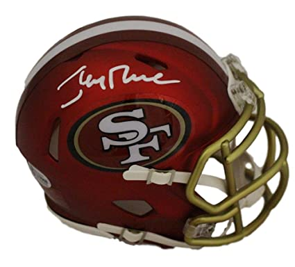 new style 3ec8d 939a9 Amazon.com: Jerry Rice Autographed/Signed San Francisco ...