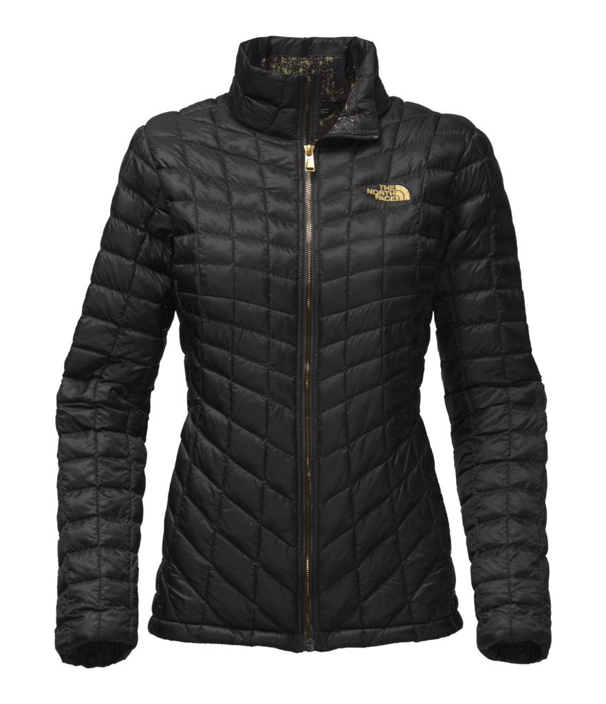 The North Face Women's Thermoball Full Zip Jacket - TNF Black/TNF Black Brightlights Print - XXL