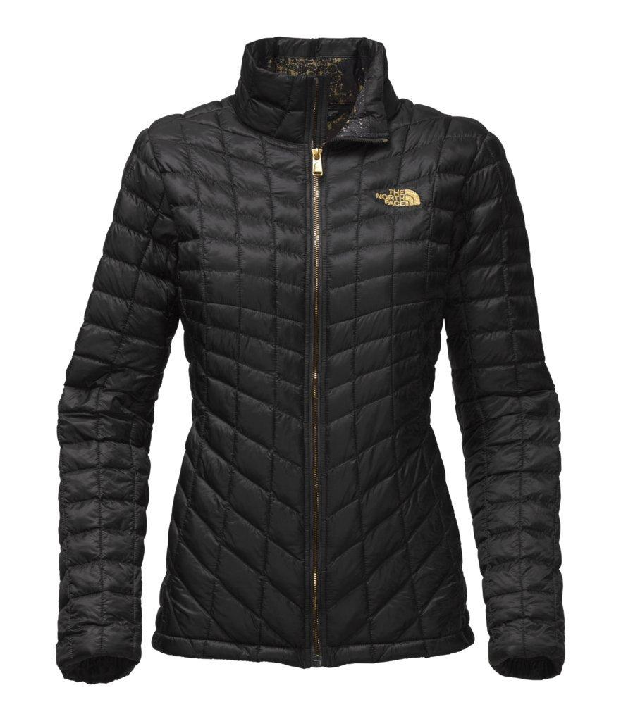 The North Face Women's Thermoball Full Zip Jacket - TNF Black/TNF Black Brightlights Print - M