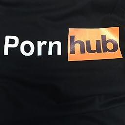 Amazon Co Jp カスタマーレビュー Pornhub Tシャツ 黒 サイズl