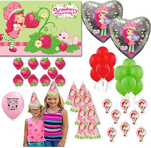 Strawberry Shortcake Party Supplies Game and Photo Prop Selfie ()