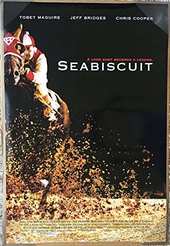 SEABISCUIT MOVIE POSTER 2 Sided ORIGINAL FINAL 27x40 JEFF BRIDGES