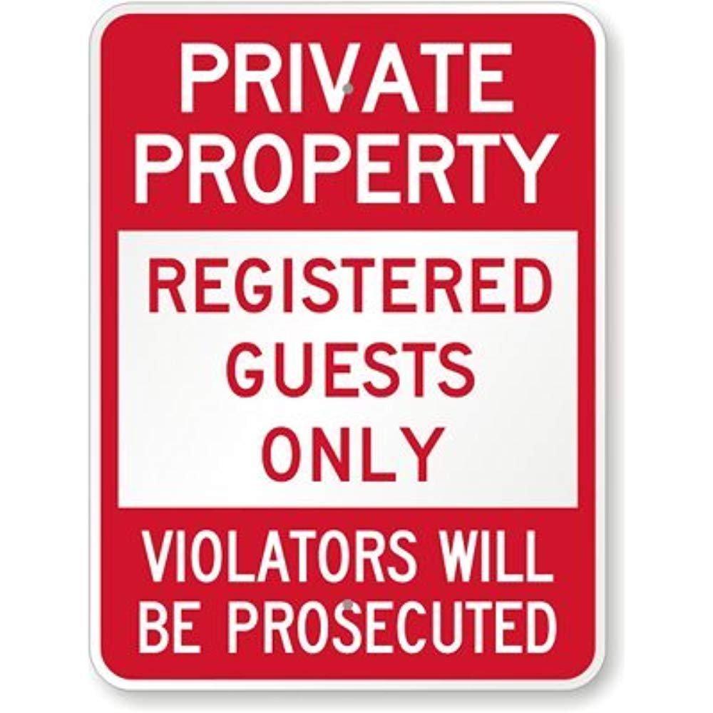 Propiedad privada: solo invitados registrados, los ...