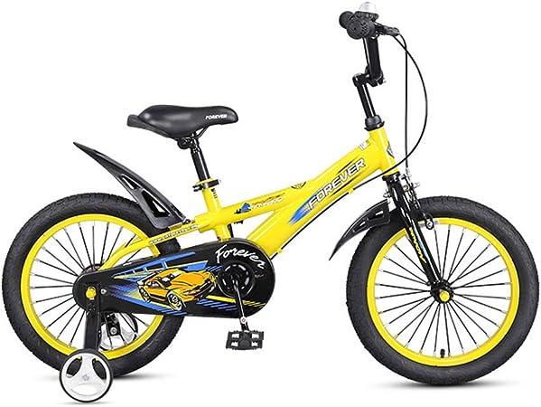 DT Bicicleta para niños 14 Pulgadas 3-5-6-8 años Carro de bebé ...