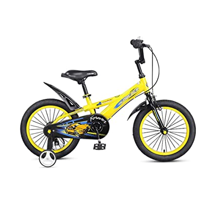DT Bicicleta para niños 14 Pulgadas 3-5-6-8 años Carro de