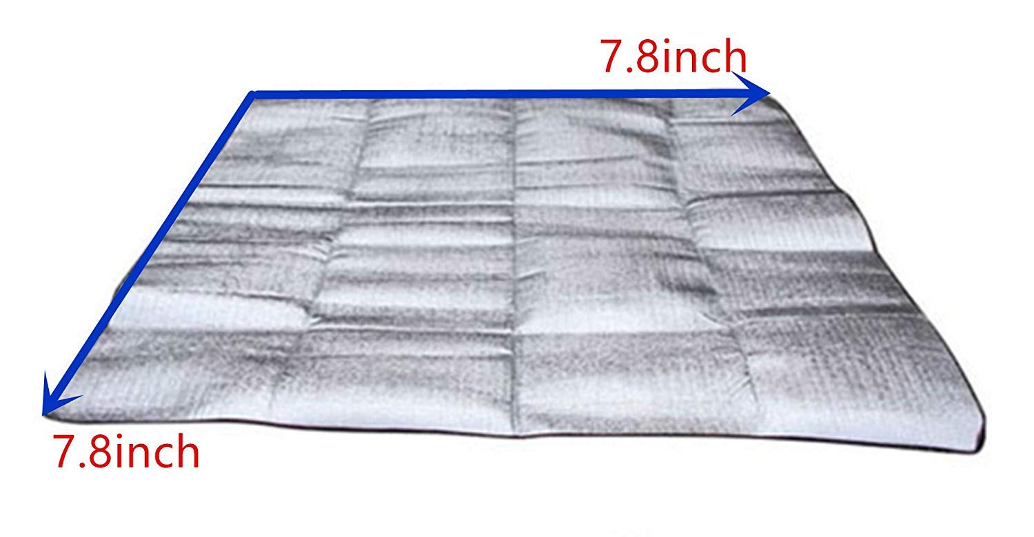 Insulated Tent Footprint Pad for Camping Moisture-Proof
