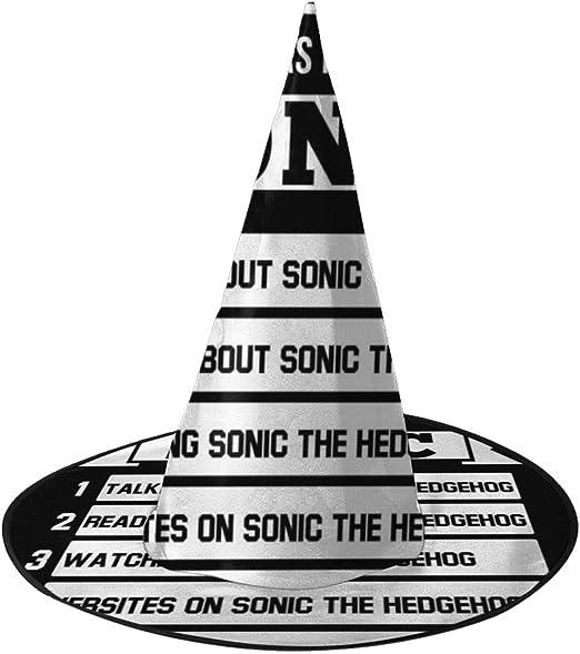 KUKHKU 5 Cosas Que Amo Casi Tanto como Sonic el Erizo Sombrero de ...