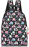 Ropper Lightweight Canvas Cute Pattern Kids School Backpack,15""