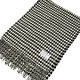 Cashmere Feel Patterened Unisex Pashmina Scarf - Plaid/Checks/Stripes Available