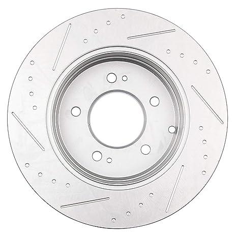eccpp 2pcs trasero 283.7 mm Rotores de freno discos de freno Kit para 2005 - 2013 Hyundai Sonata, 2011 - 2013 Kia Optima: Amazon.es: Coche y moto