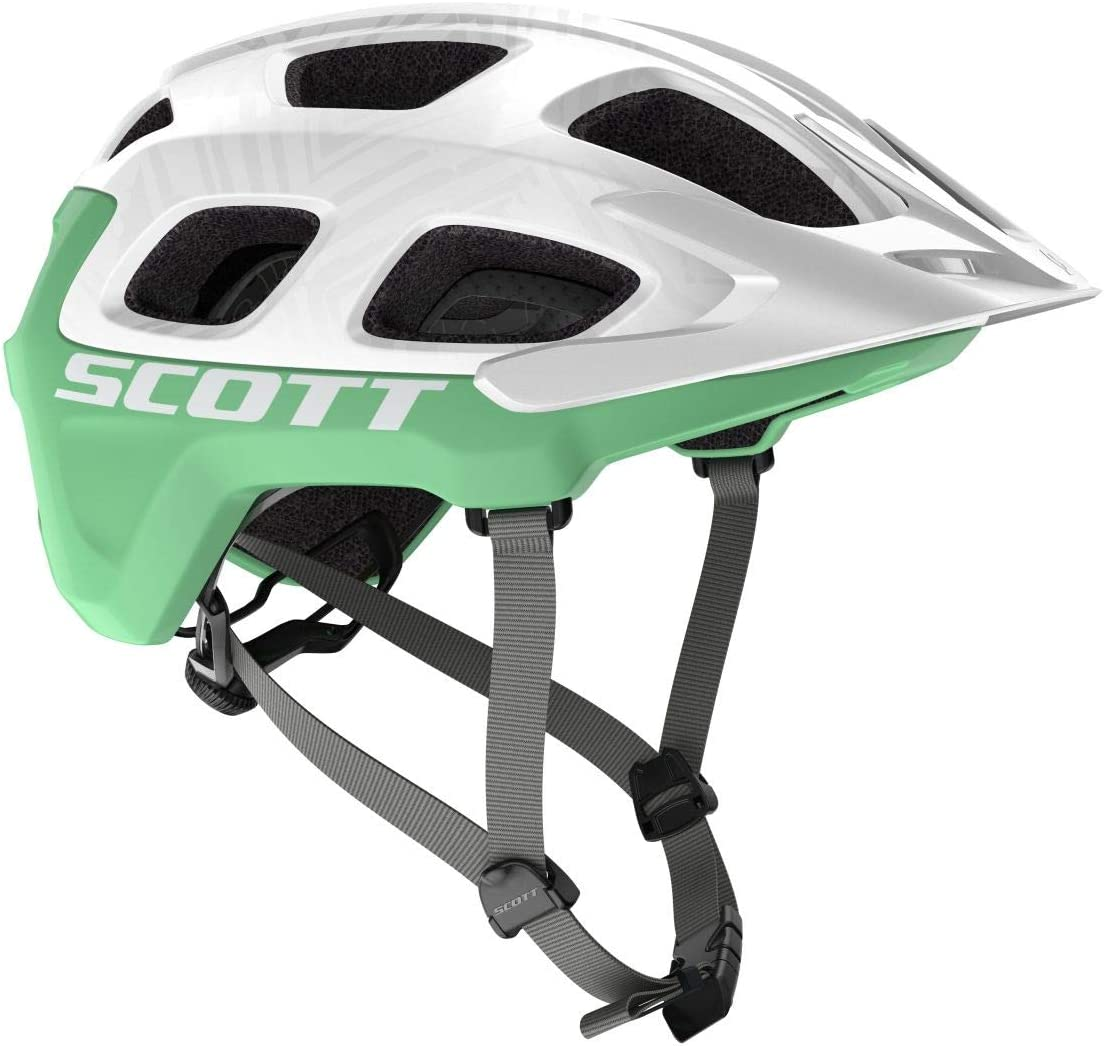 Scott - Casco Vivo Plus Wht/Mint Grn L Unisex para Adulto: Amazon ...