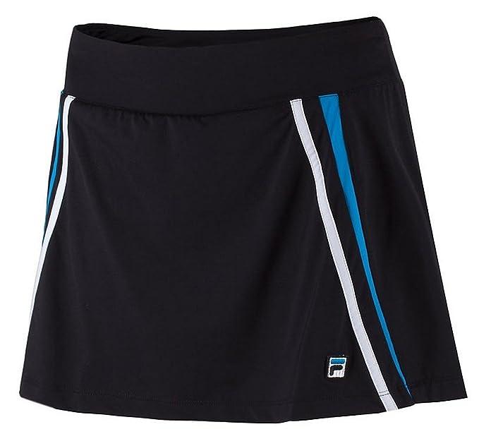 9fccf2aab5 Amazon.com : Fila Tennis Women's Center Court Skort, X-Small, Black ...