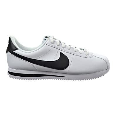 low priced 87368 144dd Nike Cortez Basic Leather Men's Shoes White/Metallic Silver/Black  819719-100 (6 D(M) US)