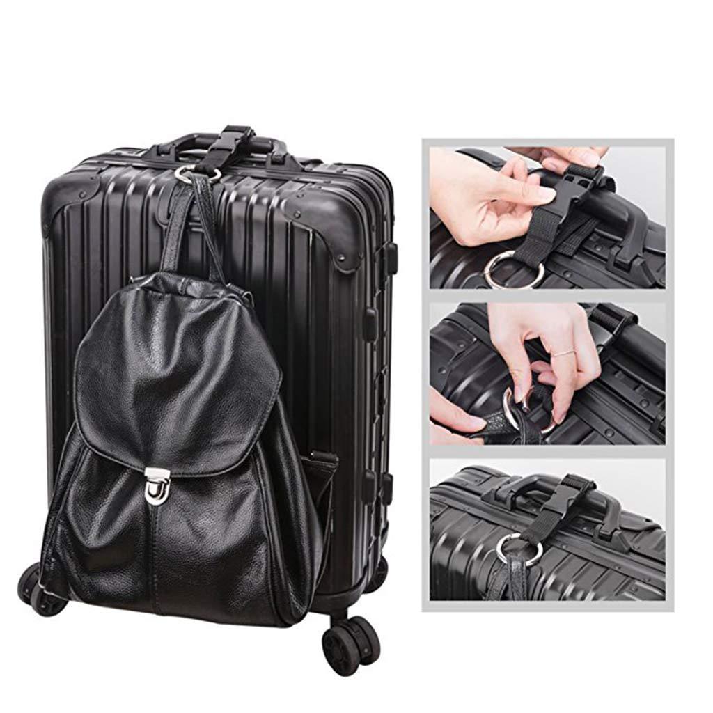 TwJim Add a Bag Luggage Strap Adjustable Suitcase Belt Jacket Gripper Straps For Travel And Suitcase