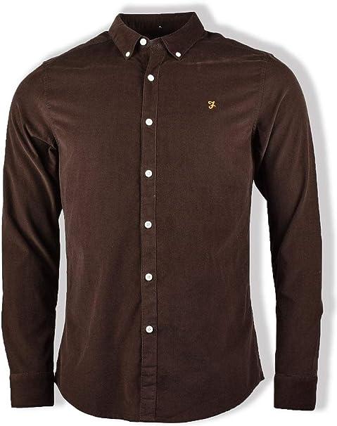 Farah Fontella Cord Shirt Camisa para Hombre