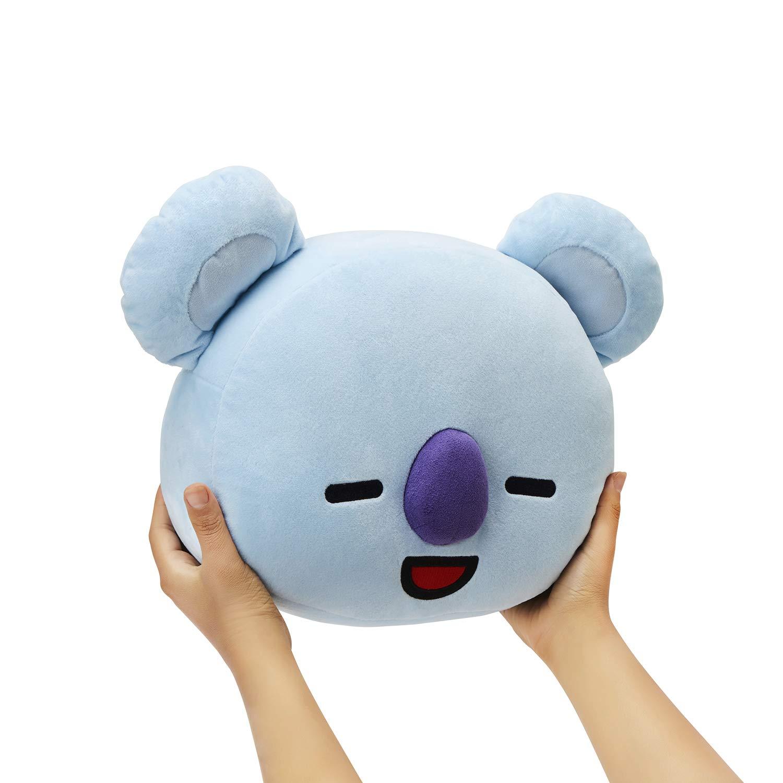 LINE FRIENDS BT21 Official Merchandise KOYA Smile Decorative Throw Pillows Cushion, 16.5 Inch by LINE FRIENDS (Image #6)