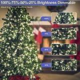 KNONEW LED String Light 1000 LED 394ft Long