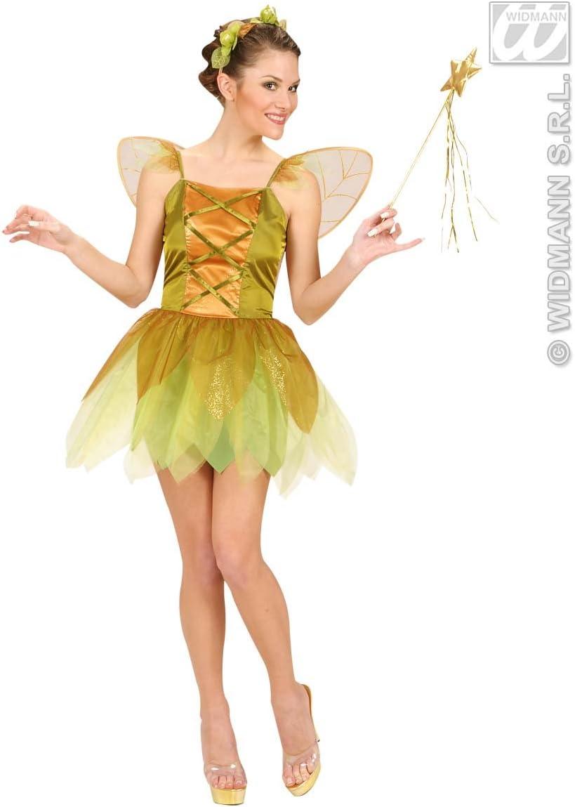 Golden - Disfraz de hada para mujer, talla 38-40 (W5817-M): Amazon ...