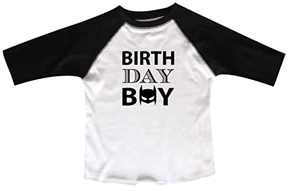 Amazon Funny Threadz Birthday Raglan Boy Batman