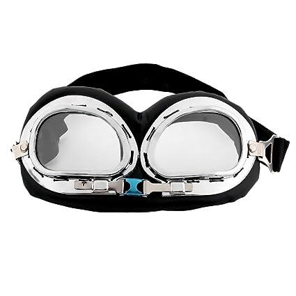Formulaone Gafas de antideslumbramiento Classic Anti-UV Scooter de Seguridad Gafas de Casco Multicolor Motocross