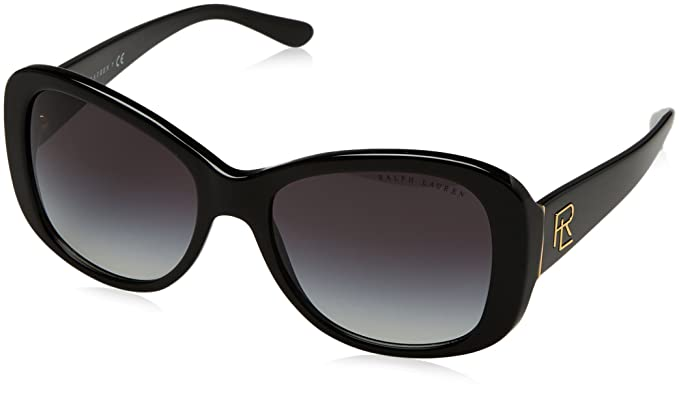bf5a3199 Ralph by Ralph Lauren Women's 0rl8144 Rectangular Sunglasses black 0 mm