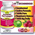 Raspberry Ketones Pure & Fresh 500mg Ketone Plus - 60 Vegetarian Caps, Fast Metabolism Diet Pills - Best Max Burn & Lose Fat Quickly Healthy Dieting Pills Proven for Rapid Weight Loss That Works Naturally Fast - Safely Simply Slim At Home with No Side Eff