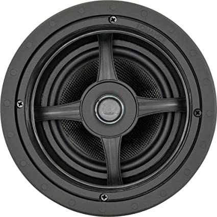 Amazon Com Sonance Mag6r 6 1 2 2 Way In Ceiling Speakers Pair Black Home Audio Theater